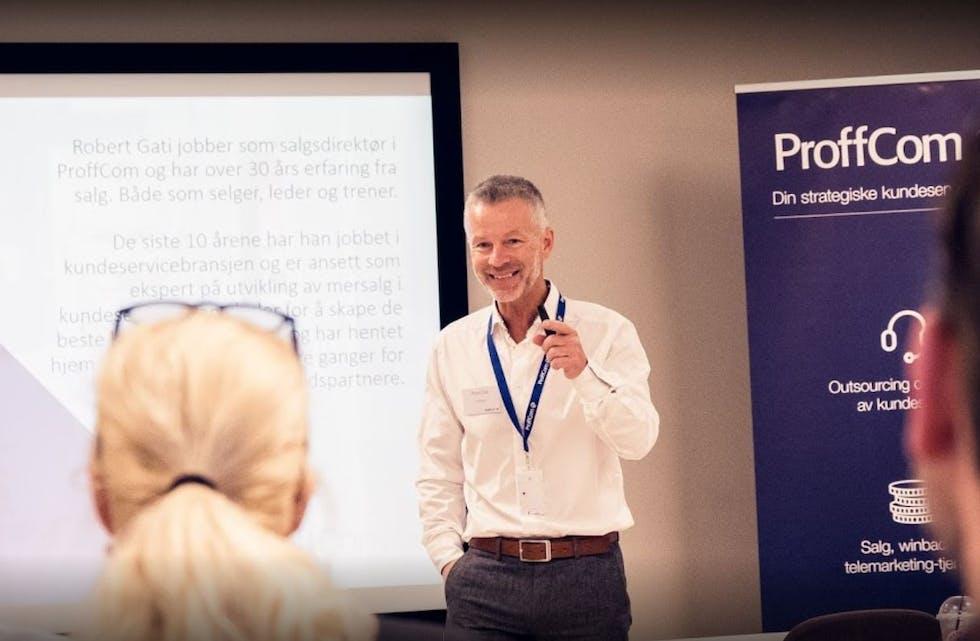 Robert Gati, salgsdirektør i Proffcom