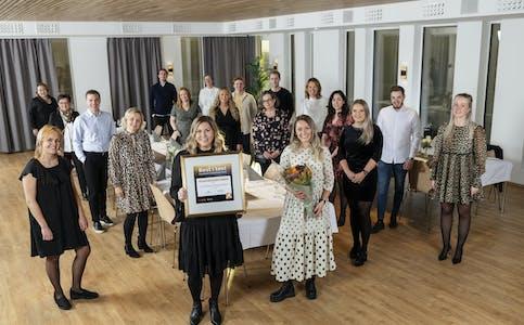 Sparebanken Møre, vinner av Kundeserviceprisen 2020 i klassen Bank