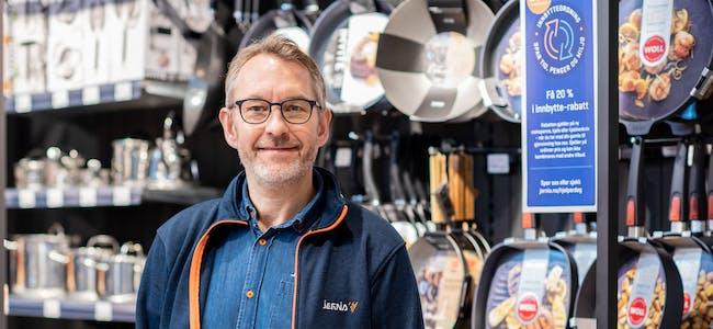 Espen Karlsen, administrerende direktør i Jernia