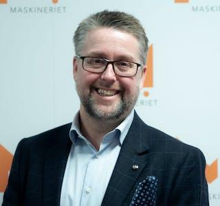 Sverre Torjuul, HR-direktør og partner i Maskineriet